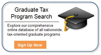 Graduate Tax Program Search