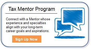 TaxTalent Mentor Program